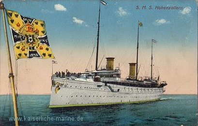 imperial yacht hohenzollern
